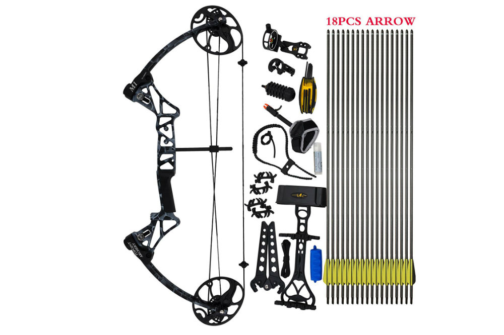 "Compound Bow Package, M1, 19""-30"" Draw Length Review"